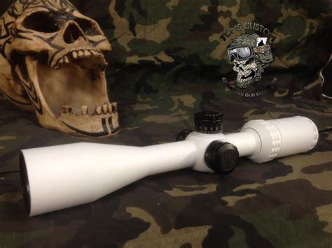 Rifle-Scopes White Rifle Scope.