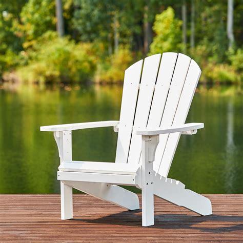 White Adirondack Chairs Plastic