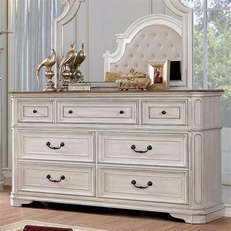 White Chest Dresser Wood