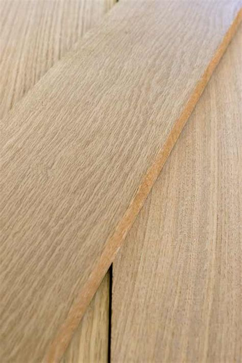 White Oak Rift Sawn