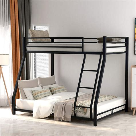 Whitewall Twin over Full Bunk Bed by Harriet Bee