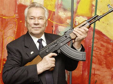 Gun-Shop Who Invented The Ak 47 Rifle.