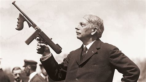 Tommy-Gun Who Invented The Tommy Gun.