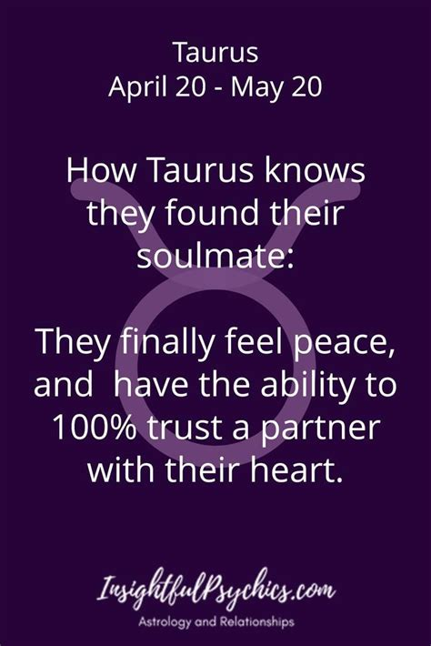Taurus-Question Who Is Taurus Soulmate.