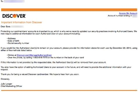 Credit Card Authorized User Social Security Why Did Discovercard Change Their Authorized User Policy
