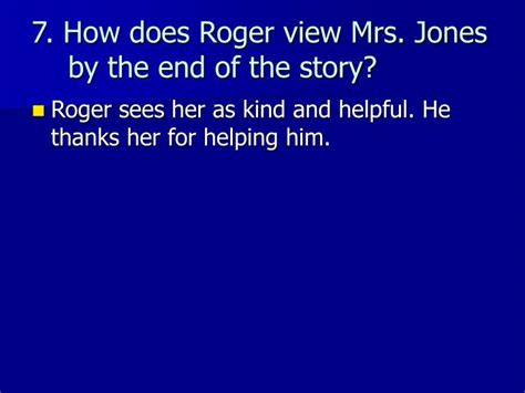 Gunkeyword Why Does Mrs Jones Gave Ruger 10 Dollars.