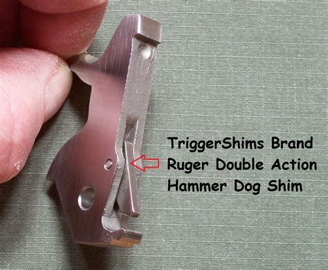 Ruger-Question Why Shim The Ruger Sp101.