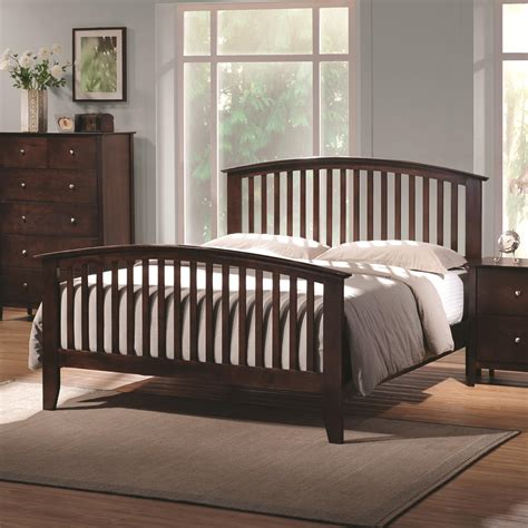 Wilda Panel Headboard and Footboard and Slats with Canopies