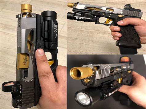 Glock-Question Will A Glock 21 Slide Fit On A Glock 20.