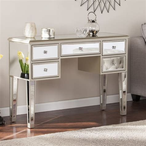 Wilmer Mirrored Console Table