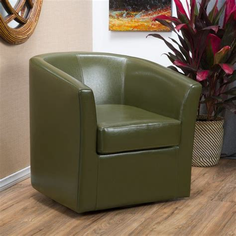 Wilmore Leather Club Chair