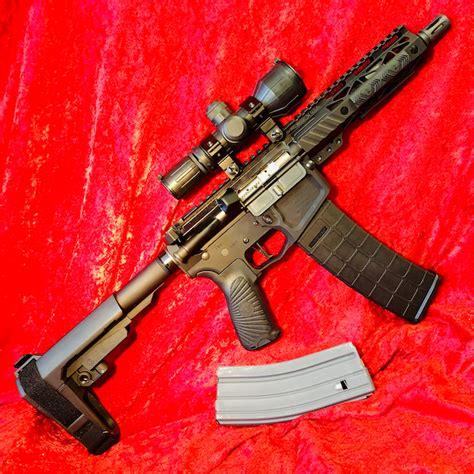 Wilson-Combat Wilson Combat 300 Blackout Ar Pistol.
