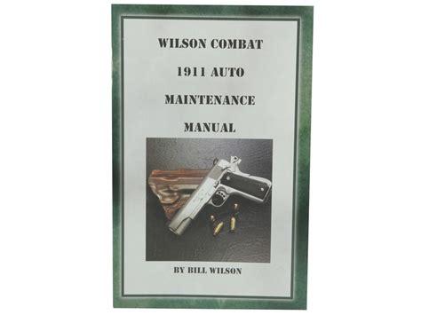 Wilson-Combat Wilson Combat Operator Manual.
