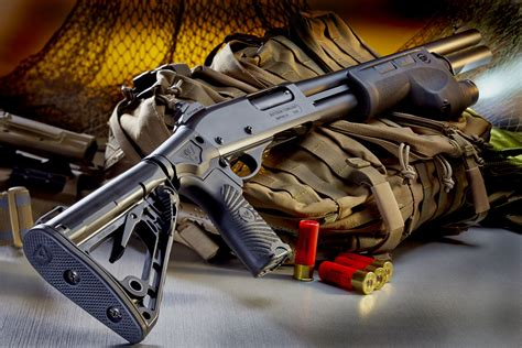 Main-Keyword Wilson Combat Shotgun.