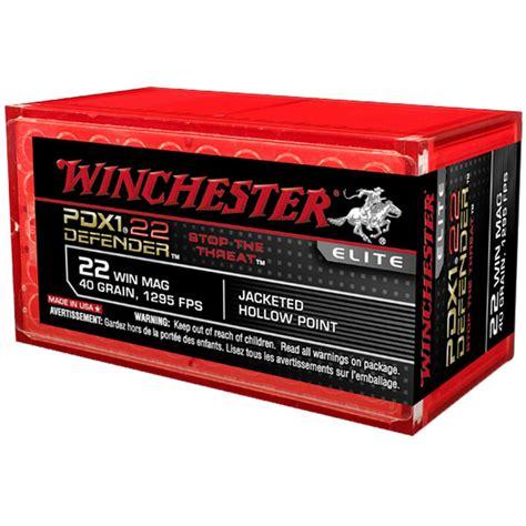 Ammunition Winchester Pdx1 Defender Ammunition 22 Winchester Magnum Rimfire