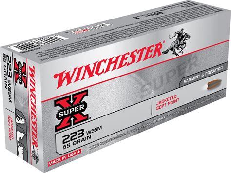 Ammunition Winchester Super-X Ammunition 223 Super Short.
