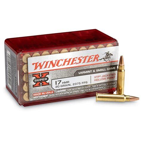 Ammunition Winchester Supur 17 Ammunition.