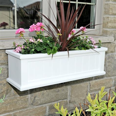 window flower boxes home depot