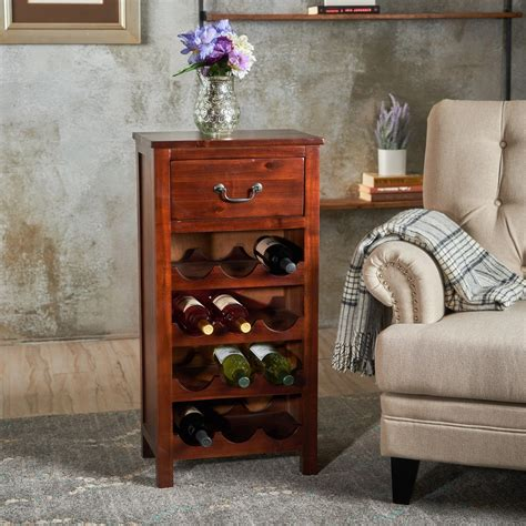 wine rack furniture walmart