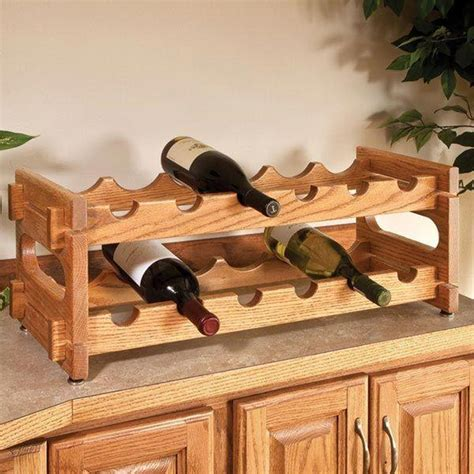wine rack plans wood