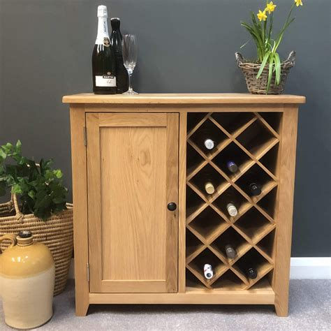 wine racks in cabinets