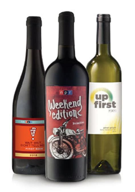 Wine Connection Credit Card Promotion Npr Wine Club Explore The World Of Wine While Supporting
