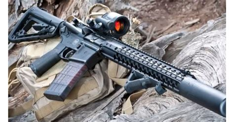 Wilson-Combat Wine Snob Suppressed 300 Blk Wilson Combat Rifle.