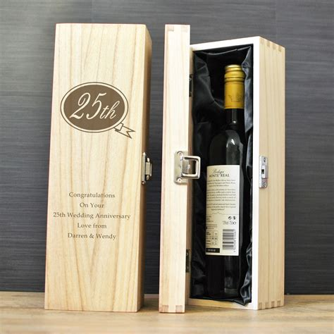 Wine In A Wooden Box Gift