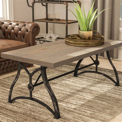 Winona Industrial Coffee Table