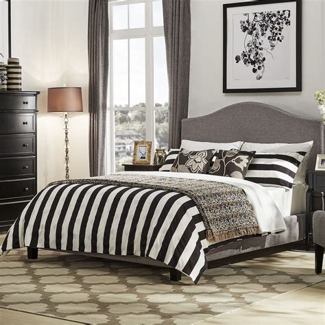 Winstead Upholstered Panel Bed byThree Posts