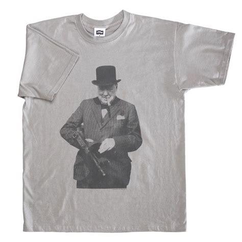 Tommy-Gun Winston Churchill Tommy Gun Shirt.