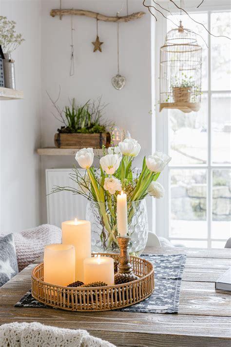 Winter Deko Wohnzimmer