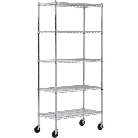 Wire Shelving Unit