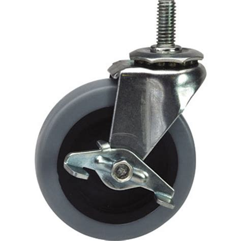 Wire Stem Caster Truck 4 shelf Shelving Unit