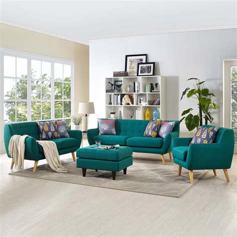 Wishart Contemporary 3 Piece Living Room Set