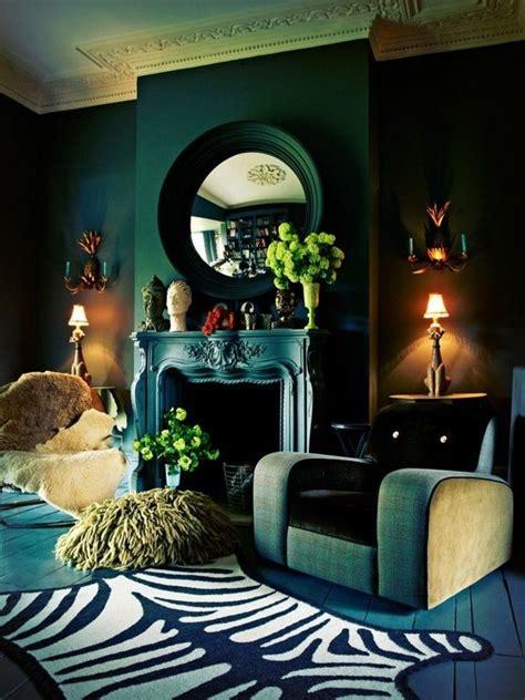 Wohnzimmer Farben Petrol
