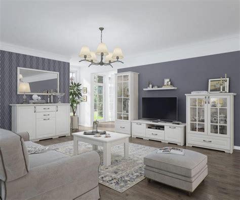 Wohnzimmer Komplett Weiß
