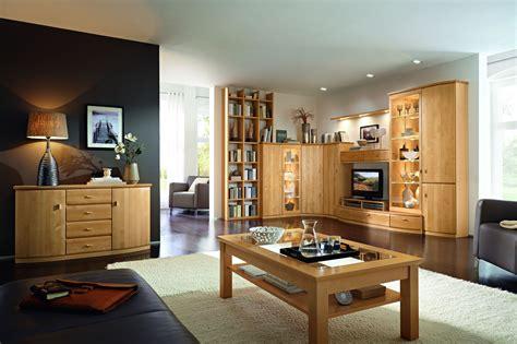 Wohnzimmermöbel über Eck