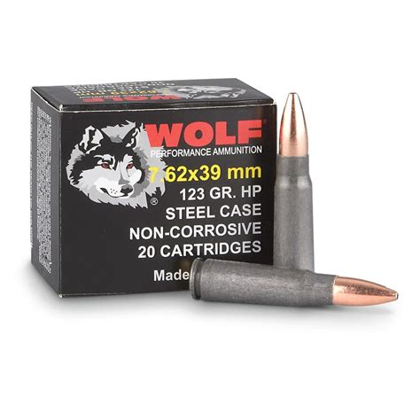 Ammunition Wolf 7.62x39mm Ammunition.