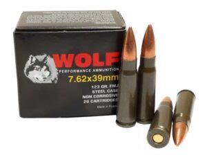 Ammunition Wolf Bulk 7.62 39 Ammunition.