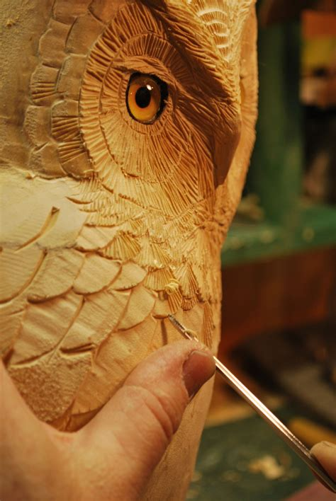 wood carving patterns owls