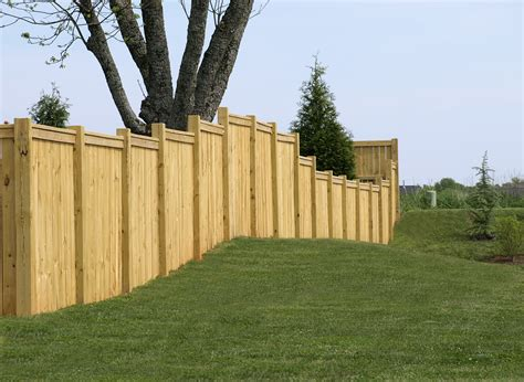 wood fence building materials