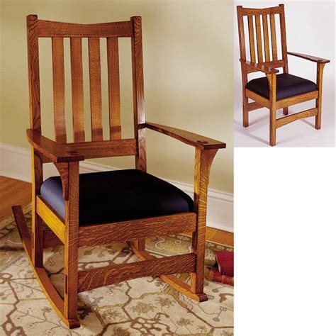 wood magazine rocking chair plans