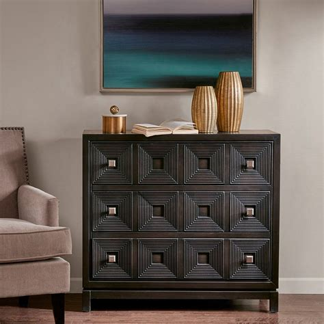 Wood Accent Chest