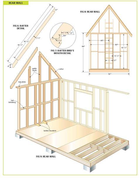 Wood Cabin Plans