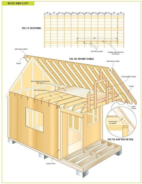 Wood Cabin Plans Free