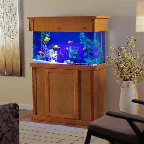 Wood Fish Tank Stand