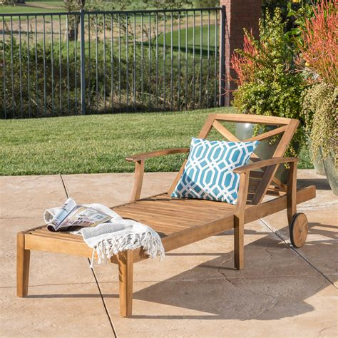Wood Lounge Chairs Outdoor
