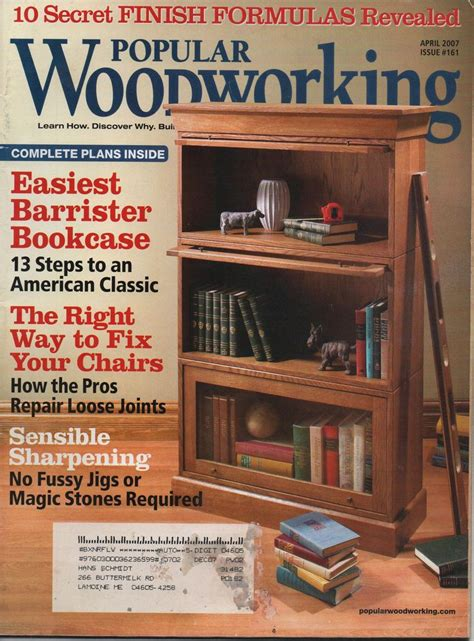 Wood Magazine Projects
