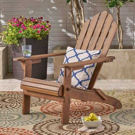 Wood Outdoor Furniture Adirondack